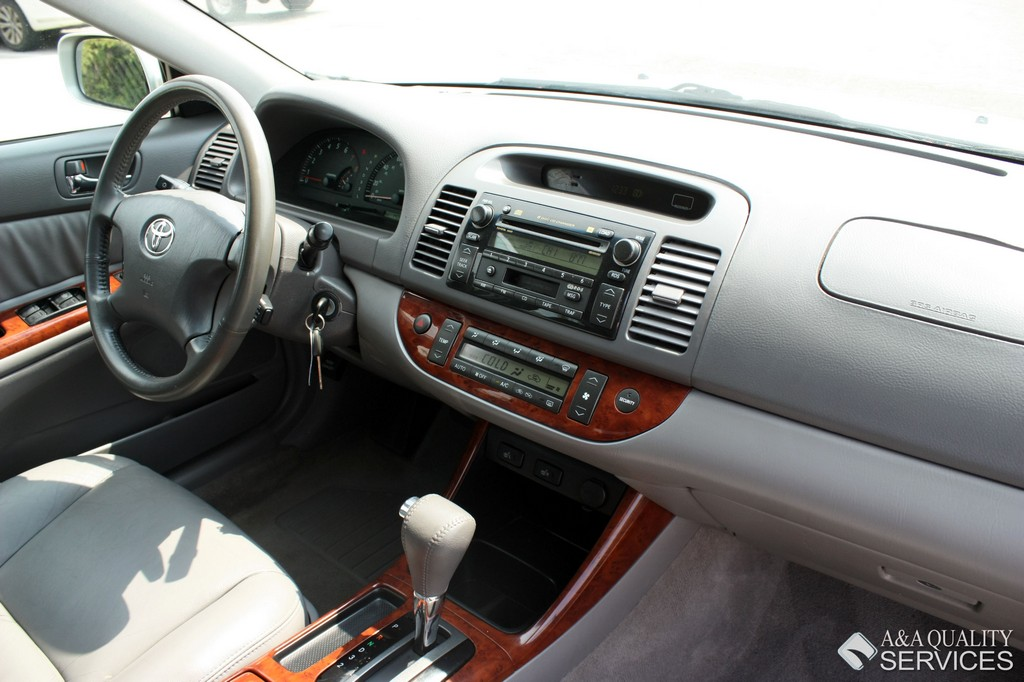 2004 TOYOTA CAMRY XLE LEATHER SUNROOF LOADED ...