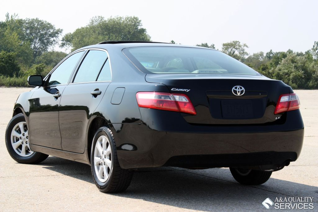 2008 toyota camry le sunroof bluetooth black a a quality services inc. Black Bedroom Furniture Sets. Home Design Ideas