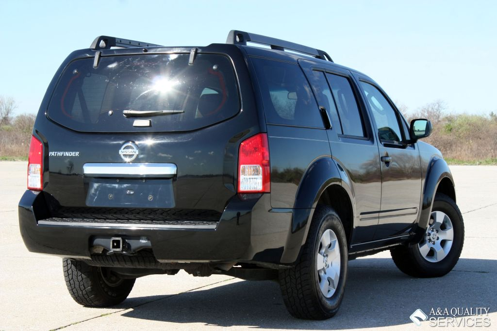 2008 Nissan Pathfinder S 3rd Seat Black Aa Quality Services Inc