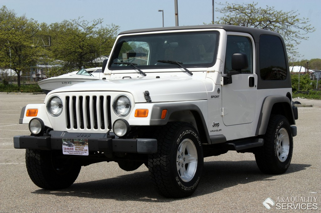 2006 jeep wrangler sport 4wd hard top a a quality services inc. Black Bedroom Furniture Sets. Home Design Ideas