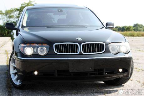 2004 BMW 745LI NAVIGATION